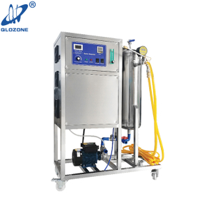 Mobile Ozone Water System for Plant Breeding Washing